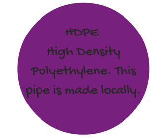 Hoop Flow Love HDPE High Density Polyethylene Pipe