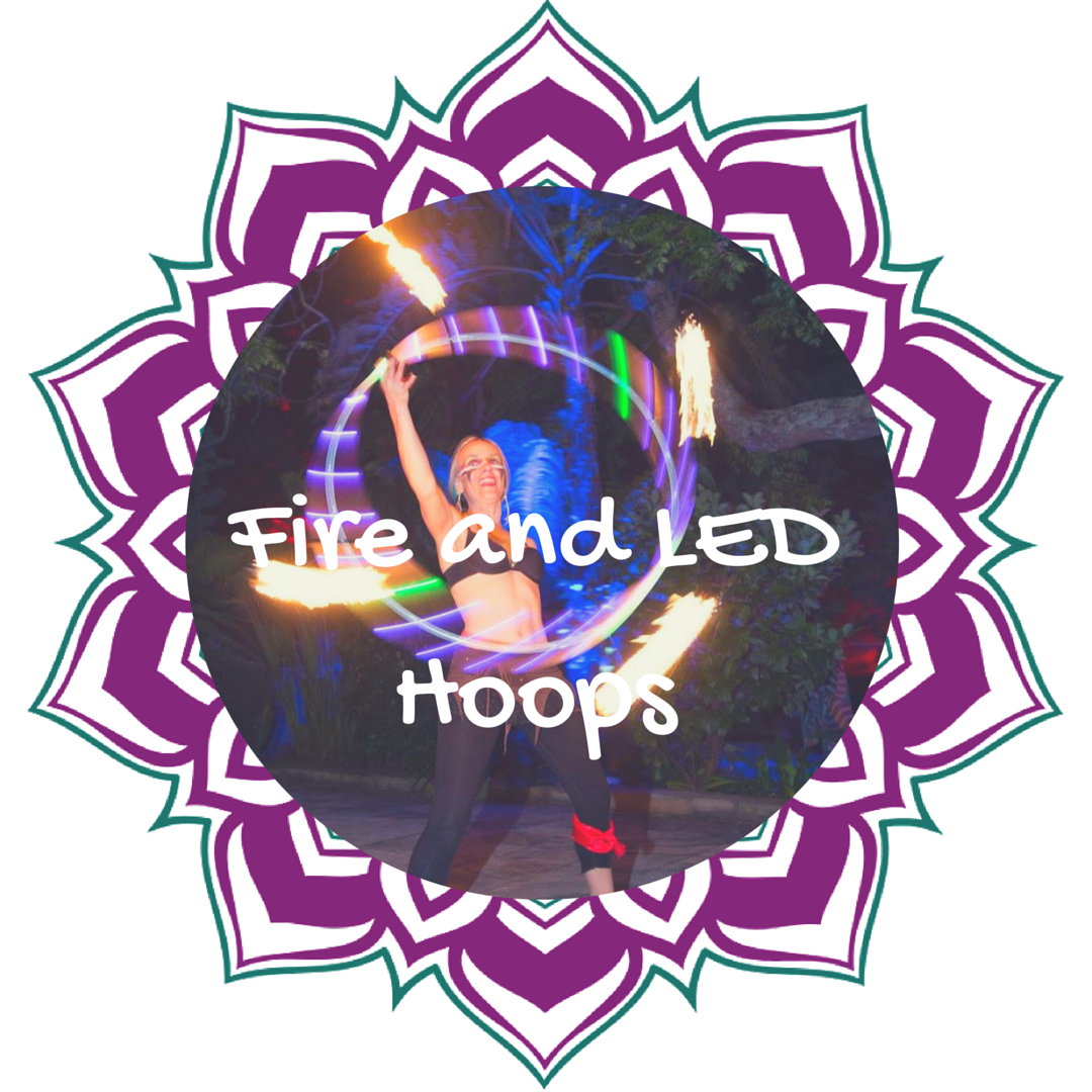 Hoop Flow Love Fire Hoops and LED Hoops Cape Town