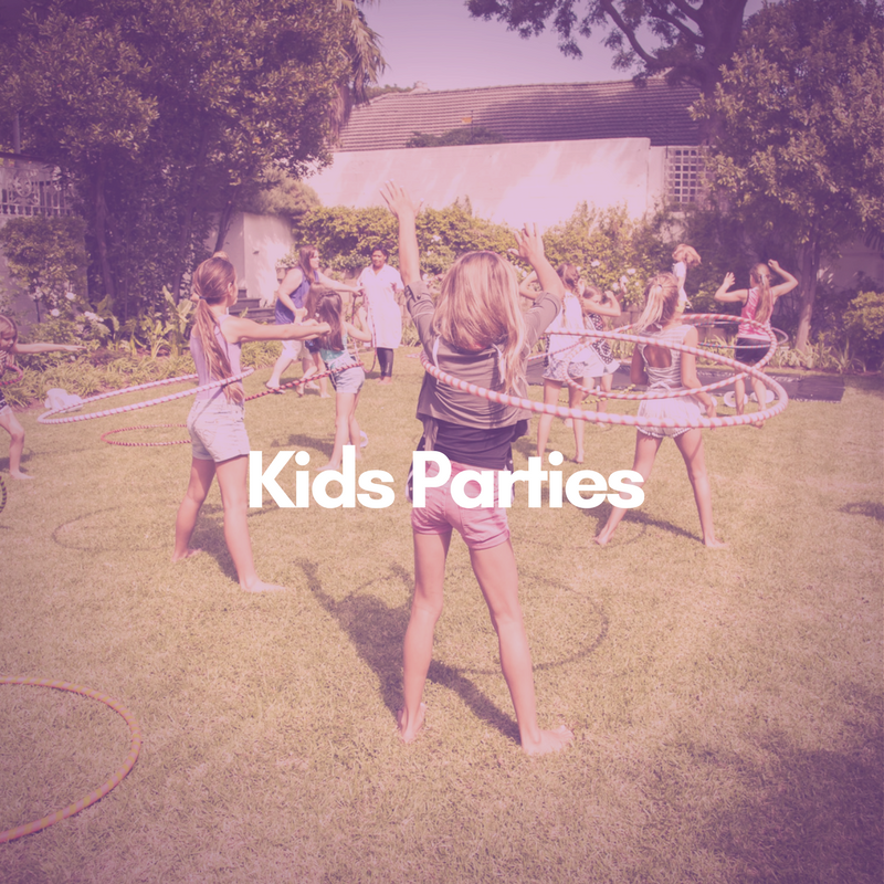Hoop Flow Love Kids Parties Cape Town
