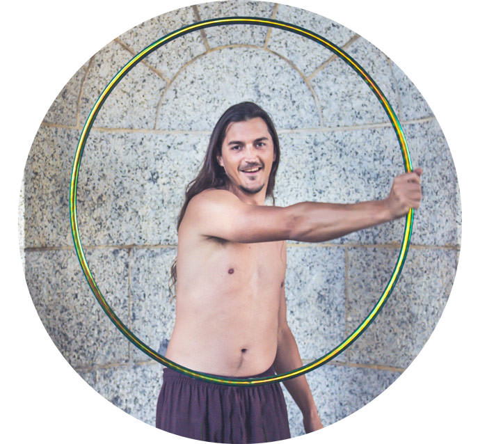 Basil Scordilis Hooping Cape Town