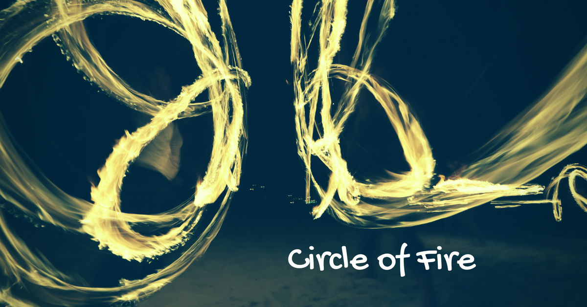 Circle of Fire Fire Performance retreat Hosted by Hoop Flow Love #circleoffire