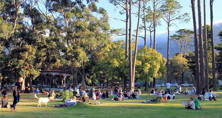 The free Concerts in the Park have become a staple for Capetonians. (image source Inside Guide)