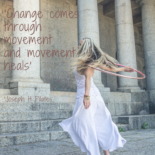 Change through Movement - Healing through Hoop Dance - Hoop Flow Love - Sandy-Dee